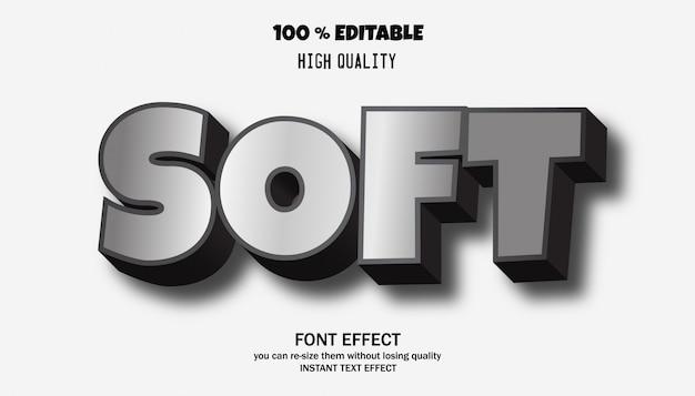 クールな未来的な効果のためのテキスト効果、編集可能なフォント効果
