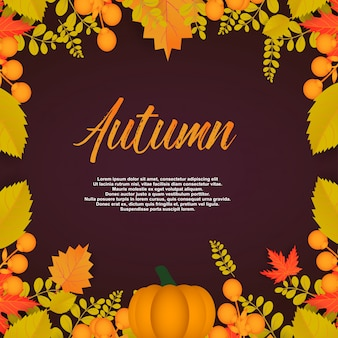 秋のポスター