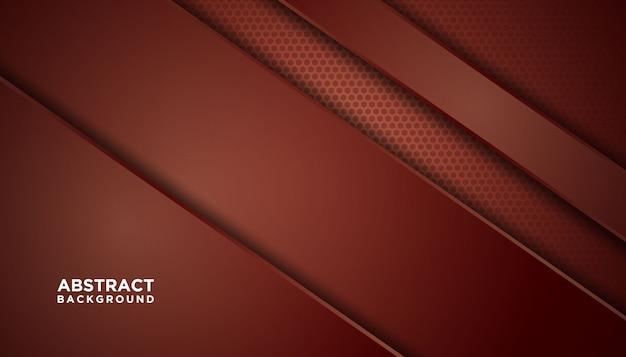 Темный абстрактный фон с красными слоями перекрытия.