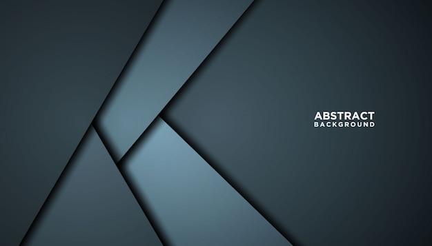 Темный абстрактный фон с перекрытием слоев.