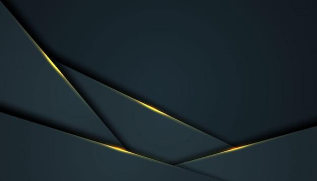 黒のオーバーラップレイヤーと暗い抽象的な背景