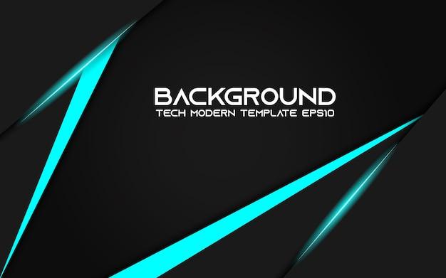 抽象的なメタリックブルーブラックのバックグラウンドモダンなハイテクデザイン