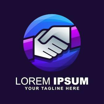 Рукопожатие логотип