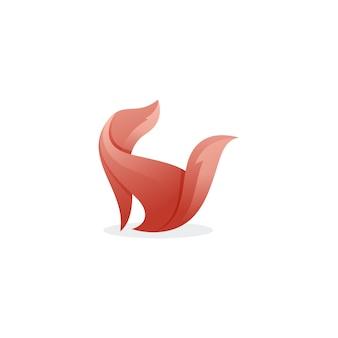 現代犬のロゴ