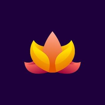 Лотос современный логотип