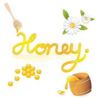 Сладкий мед натуральный