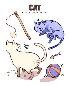 可愛らしい猫