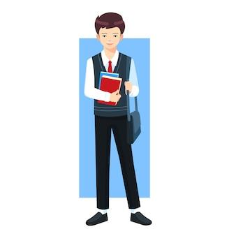 Характер мальчика средней школы