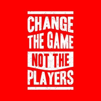 プレイヤーがレタリングタイポグラフィを引用するのではなく、ゲームを変更する
