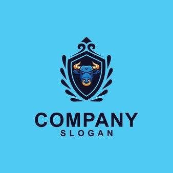 Коллекция логотипов быка