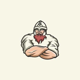 Логотип викинга