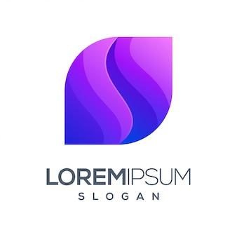Градиент вдохновения цветной дизайн логотипа