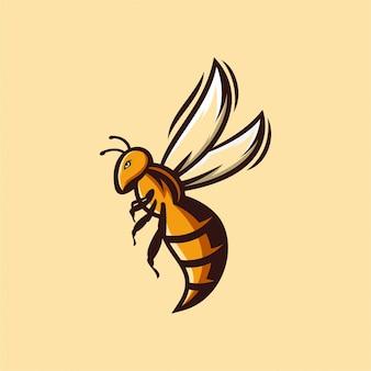ハチのロゴ