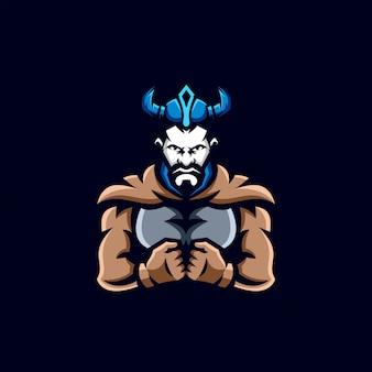 Дизайн логотипа викинг киберспорт