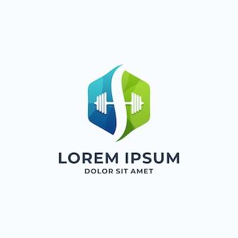Фитнес логотип