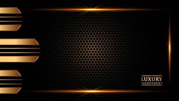 Абстрактный градиент фона золотого цвета