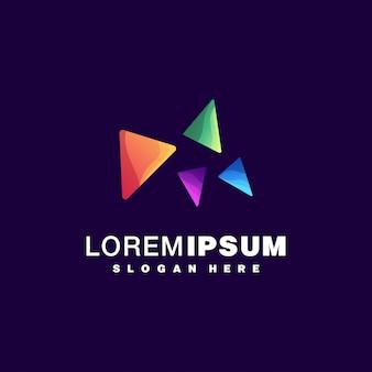 Красочный дизайн логотипа