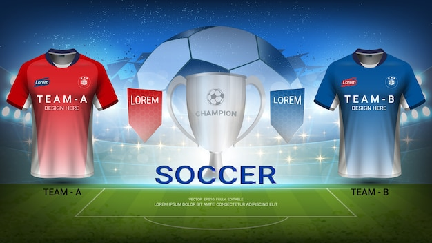 サッカーa対bチーム、スポーツ試合の最終試合