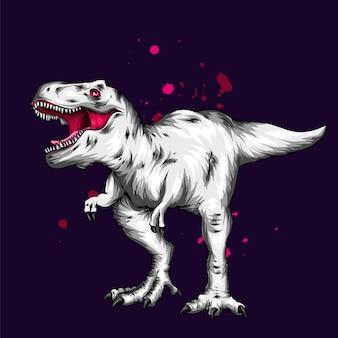 Красивый динозавр.