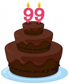 Торт ко дню рождения