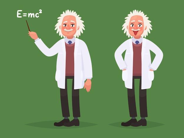Мультяшный портрет альберта эйнштейна