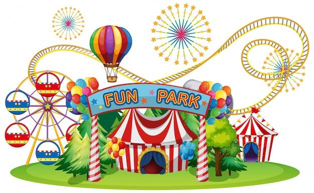 Ярмарка цирка и веселья