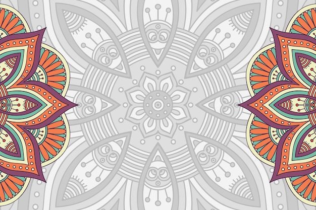 다채로운 벡터 간단한 기하학적 패턴 배경