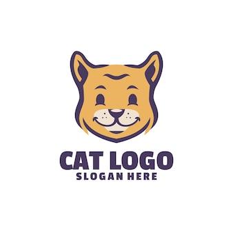 Симпатичный логотип для ваших милых питомцев. идеально подходит для вашего бизнеса по уходу за домашними животными или грумингу