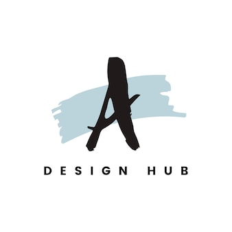 A design hub logo vector
