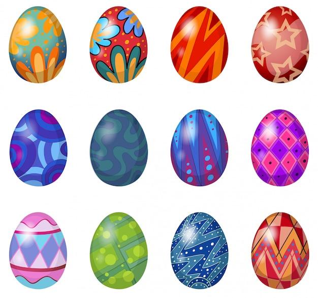 부활절 달걀 12 개