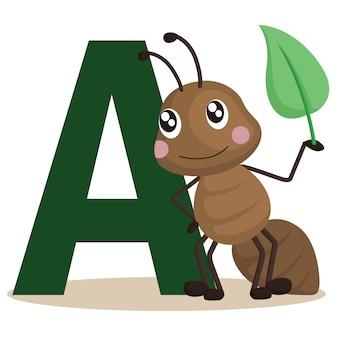 Antのためのa