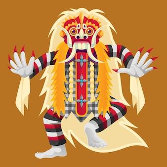 バリ島のリークダンサー