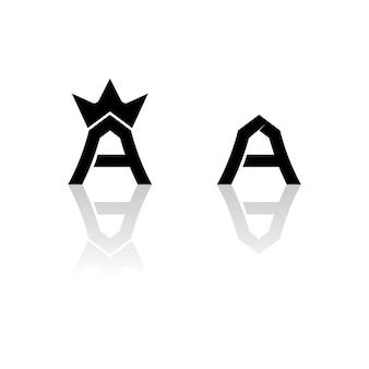 편지 로고 및 글꼴 편지 디자인 템플릿 벡터 아이콘 일러스트 디자인