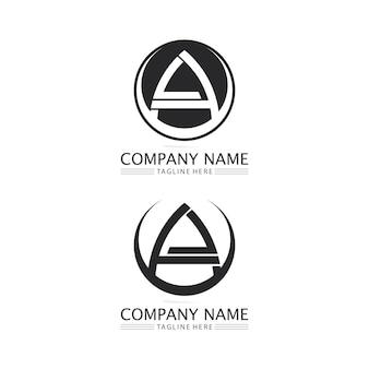 편지 로고 템플릿 벡터 아이콘 일러스트 디자인