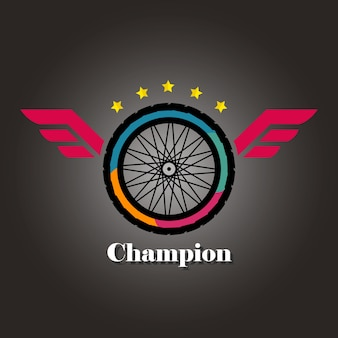 챔피언의 로고