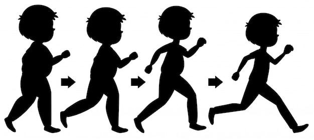 体重を減らすための男のエクセレンス