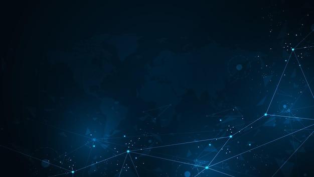 정교한 디지털 연결 네트워크