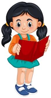 ポニーテールの女の子キャラクター
