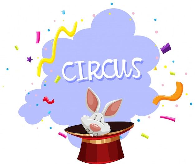 ウサギマジックトリックサーカス