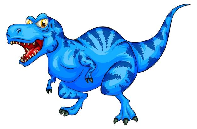 ラプトレックス恐竜の漫画のキャラクター