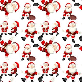 A Seamless santa patterns