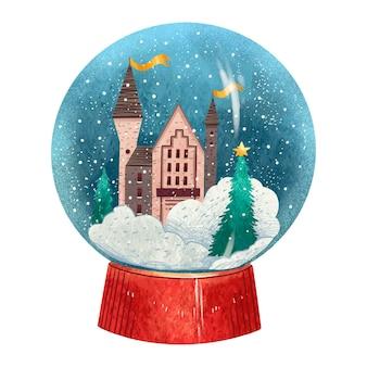 カラフルなクリスマスイラストジンジャーブレッドのセット
