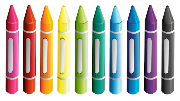 crayon vectors photos and psd files free download rh freepik com crayola factory pa crayon factory uk