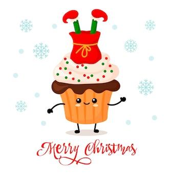 진저브레드 세트입니다. 쿠키맨, 선물용 양말, 크리스마스 트리, 사슴, 산타, 눈송이,