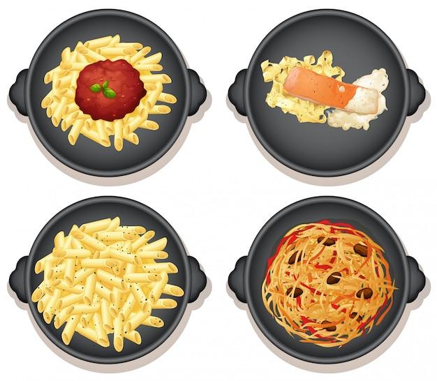 Набор итальянских макаронных блюд
