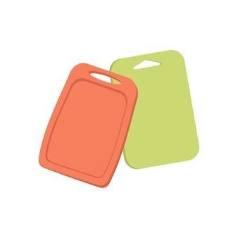음식을 요리하고 자르기 위한 플라스틱 도마 주방 용품 세트