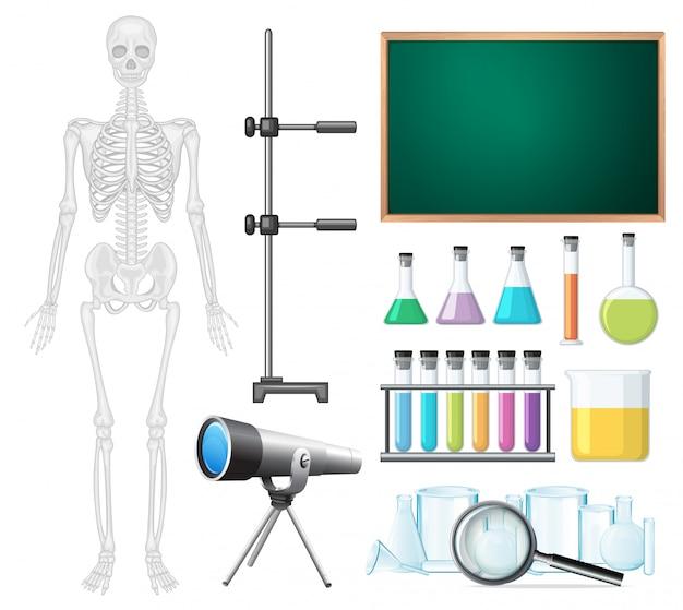 科学教室要素のセット