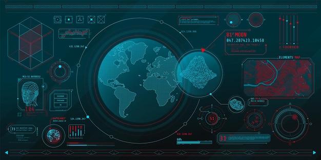 惑星検索のトピックに関する一連の薄い要素。