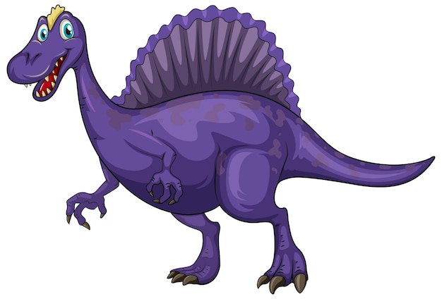 Мультипликационный персонаж динозавра спинозавра