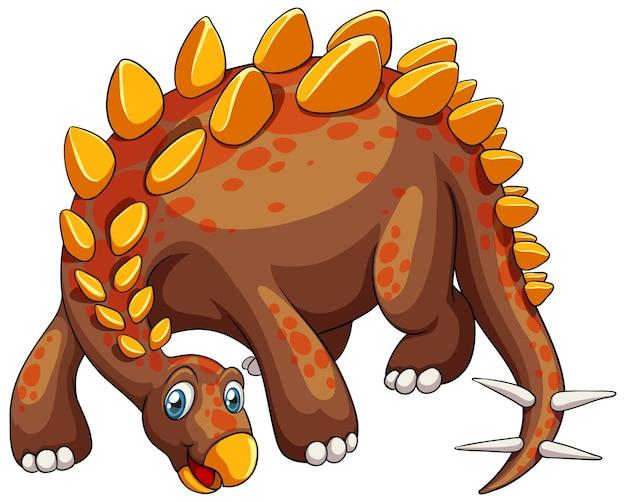 Стегозавр динозавр мультипликационный персонаж